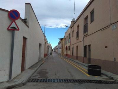 El carrer Manel Crespo de Sant Pere Molanta passarà a ser de plataforma única