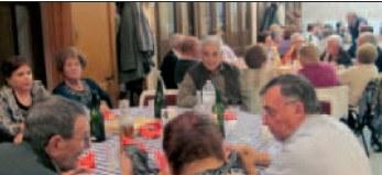 El Casal d'Avis programa durant l'any diferents dinars