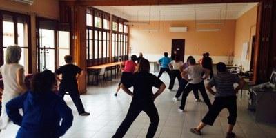 El Casal d'Avis de Moja prepara l'inici presencial de l'activitat de gimnàstica per a gent gran
