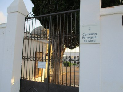 El cementiri de Moja reobre al públic aquest diumenge