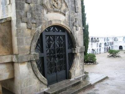 El cementiri municipal de Moja obre matí i tarda fins l'1 de novembre