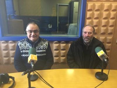 Josep Milà i Josep Mir, membres de la comissió del 50è aniversari
