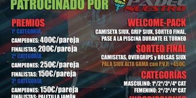 El CIE Olèrdola acull la setmana que ve la 2a prova del circuit HQ Pàdel Tour