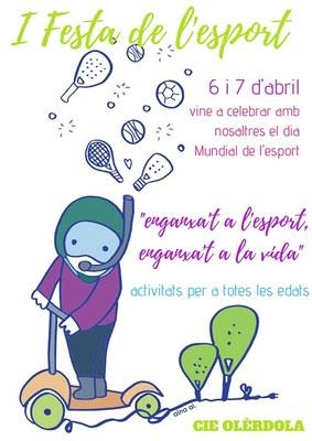 El CIE Olèrdola programa aquest cap de setmana la 1a Festa de l'Esport