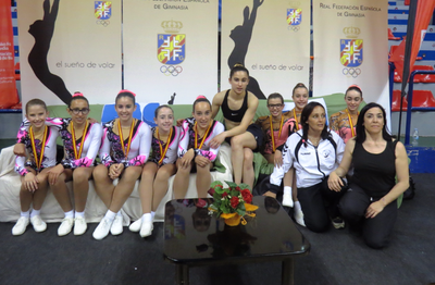 El club d'Olèrdola ha obtingut dos bronzes en els campionats d'Espanya d'aeròbic