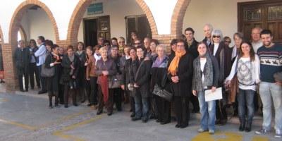 """El Club de Lectura desplaça a 40 persones fins al TNC per a veure """"Una història catalana"""""""