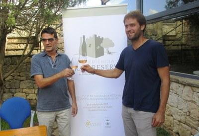 El president de Pimecava, Xavier Nadal; i l'alcalde, Lucas Ramírez