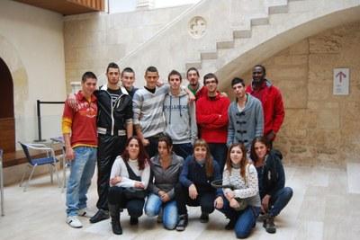 Els joves han visitat el Vinseum