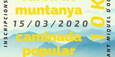 El diumenge 15 de març es viurà la 3a cursa solidària Spartan Running de Sant Miquel