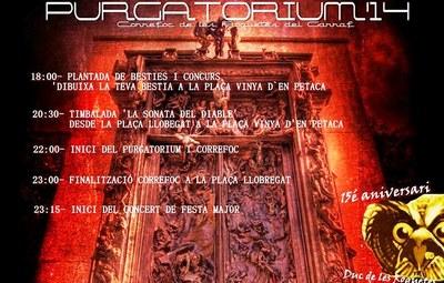 El Drac de Moja participa aquest dissabte en el Purgatorium 2014 a les Roquetes