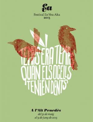 """El Festival """"En Veu Alta"""" arriba aquest diumenge a Sant Pere Molanta"""