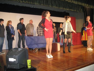 El Folre ja va teatralitzar l'acte de cloenda de la Roda de Teatre