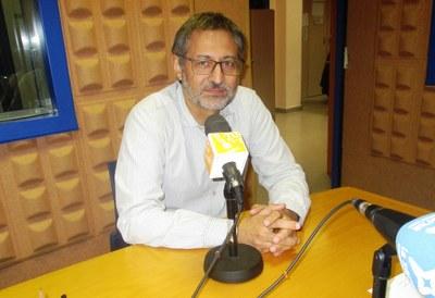 Xavier Serramià, portaveu del govern municipal i regidor d'Hisenda