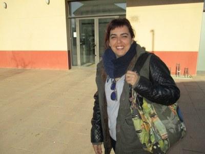 Eva Ruiz, regidora d'escoles bressol de l'Ajuntament d'Olèrdola