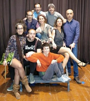 """El  grup """"A Pèl"""" de Puigdàlber representa diumenge l'obra """"Tetràpodes"""" al Local Nou de Moja"""