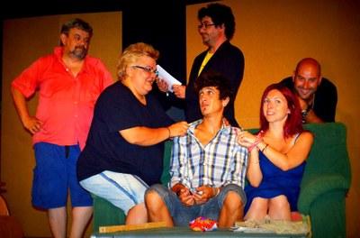 """El grup """"El Fanal"""" de Sant Quintí actua aquest diumenge a Sant Miquel amb  l'obra """"Infidelitat"""""""