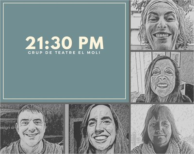 """El grup """"El Molí"""" dels Monjos actua aquest diumenge a Sant Miquel d'Olèrdola amb l'obra """"21:30PM"""""""