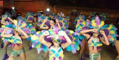 """El grup """"Xelolo's"""", amb Fantasia de l'Amazones , guanya el 2n concurs de comparses de Sant Miquel"""