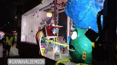 El Grup de Carnaval de Moja guanya el 2n premi de carrosses i els primers de disfresses i coreografies de la rua del Vendrell