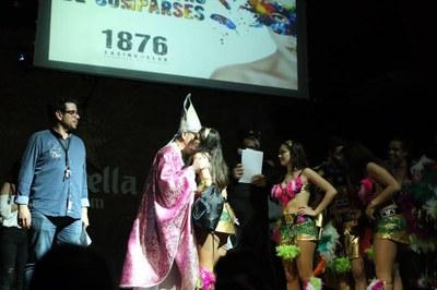 El grup de Carnaval de Moja guanya el premi a la millor disfressa al Casino de Vilafranca