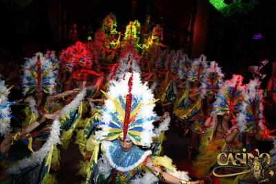 """El Grup de Carnaval de Moja guanya l'apartat de millor disfressa en el concurs de """"Casino by Arcs"""""""