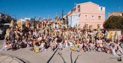 El grup l'integraven 115 persones(foto:I.Pellisa)