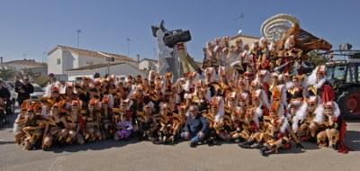 Imatge corresponent a l'any passat del Grup de Carnaval de Sant Pere