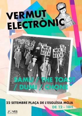 El Grup de Joves de Moja organitza aquest dissabte un Vermut Electrònic