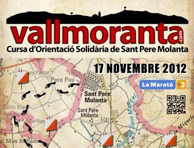 El Grup de Joves de Sant Pere Molanta ja prepara la 2a edició de la cursa d'orientació Vallmoranta