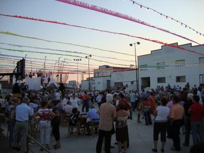 En l'antiga pista ja es llogaven taules per Festa Major