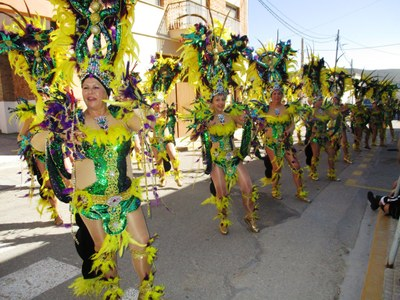 """El grup de Moja i """"La Màgia d'un poble"""" de les Cabanyes guanyen el concurs de la rua de Carnaval de Sant Pere Molanta"""