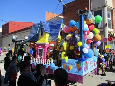 El grup de Sant Pere Molanta acaba el Carnaval segon a Vilafranca i guanyant a Santa Fe
