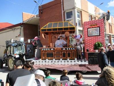 El grup de Sant Pere Molanta acomiada el Carnaval satisfet per haver-se refermat com a proposta familiar