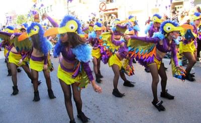 El grup de Sant Pere Molanta obté els segons premis de les rues de Calafell Platja i el Vendrell