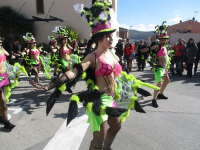 El grup de Sant Pere tanca el Carnaval satisfet per haver mantingut el nivell dels darrers anys