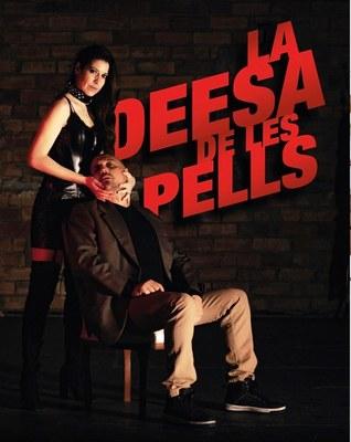 """El grup de teatre MaGret interpreta aquest diumenge a Sant Pere Molanta  """"La Deesa de les Pells"""""""