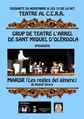 """El grup l'Arrel actua aquest dissabte a la Ràpita amb """"Maror, les regles del gènere"""""""