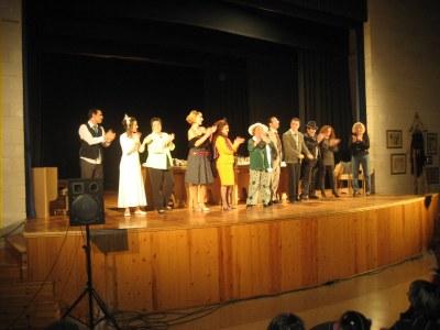 L'Arrel estrenava l'obra a Sant Miquel, el passat 1 de desembre