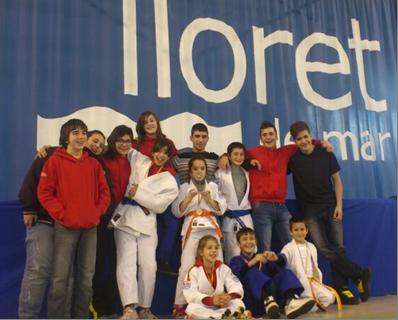 El Judo Olèrdola fa un bon paper en el Torneig Internacional de Lloret de Mar