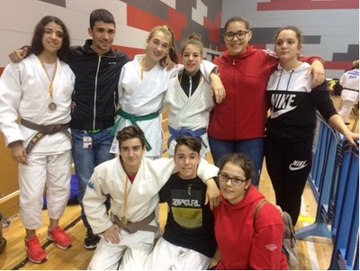 El Judo Olèrdola obté tres medalles d'or en la Copa Catalunya