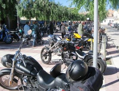 La Rambla Catalunya de Moja es va omplir de Harley's