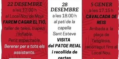 El patge reial arriba aquest dissabte a Moja i a Sant Miquel d'Olèrdola