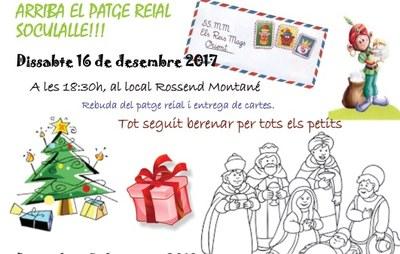El patge reial Soculalle arriba a Sant Miquel aquest dissabte