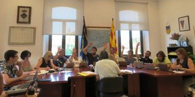 El ple aprova una modificació de pressupost que inclou les obres de reforma de l'edifici de l'Ajuntament