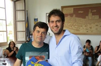 Fa quatre anys, Lucas Ramírez era escollit alcalde prenent el relleu de Josep Tort