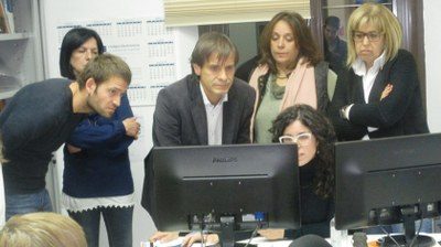 Imatge d'arxiu del soteig per les eleccions del 21 de desembre de 2017