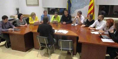 El ple de l'Ajuntament d'Olèrdola rebutja la sentència del procés i exigeix l'amnistia dels presos polítics