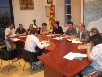 El ple de l'Ajuntament d'Olèrdola reitera el seu suport a la consulta del 9N