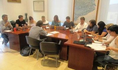 El ple de l'Ajuntament tractarà dilluns la renúncia d'Eva Ruiz i l'adjudicació de la zona de Daltmar
