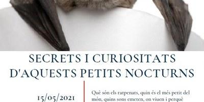 El prestigiós científic Jordi Serra conduirà el dissabte 15 de maig a Sant Miquel un dinàmic taller dedicat als ratpenats